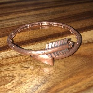 Rose Gold Alex and Ani Arrow